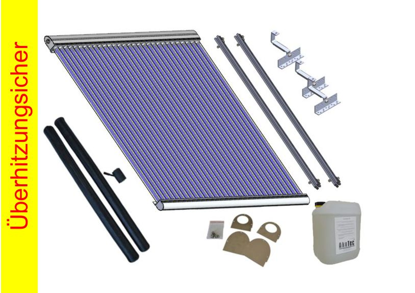 18130_komplettpaket Kollektor Pakete heat pipe